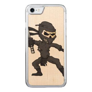 Coque Carved iPhone 8/7 bande dessinée de ninja de crâne