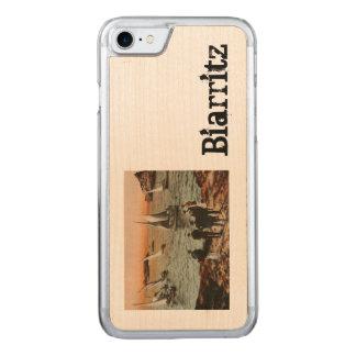 Coque Carved iPhone 8/7 BIARRITZ - port Vieux d'Au de Régates