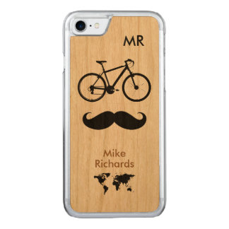 Coque Carved iPhone 8/7 bicyclette. deux-roues. vélo. cool