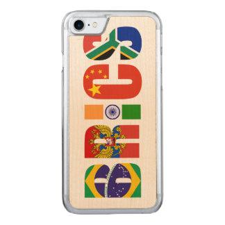 COQUE CARVED iPhone 8/7 BRICS