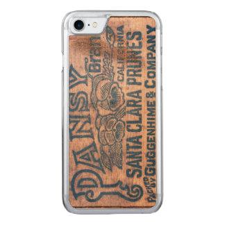 Coque Carved iPhone 8/7 Caisse en bois 2 en bois d'expédition des USA de