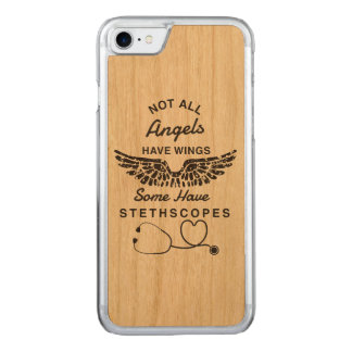 Coque Carved iPhone 8/7 Cas d'Iphone 7 d'infirmière d'ange