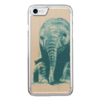 Coque Carved iPhone 8/7 Éléphant de bébé