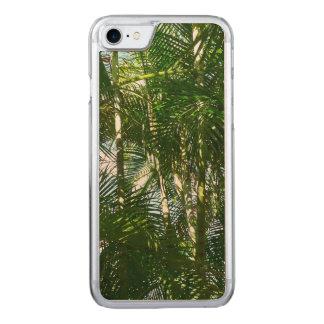 Coque Carved iPhone 8/7 Forêt de vert tropical de palmiers