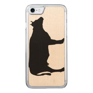 Coque Carved iPhone 8/7 iPhone de vache