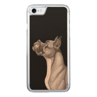 Coque Carved iPhone 8/7 Le bois de l'iPhone 6 de DANOIS