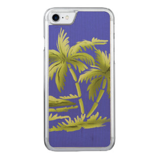 Coque Carved iPhone 8/7 Palmiers
