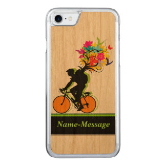 Coque Carved iPhone 8/7 Paquet 1 de nature de cyclistes