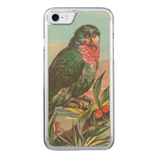Coque Carved iPhone 8/7 Perroquet