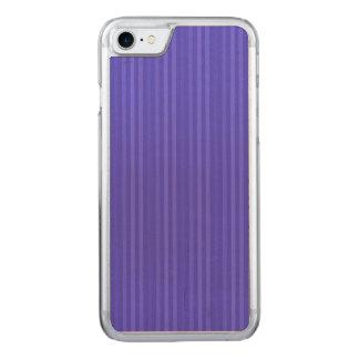 Coque Carved iPhone 8/7 Rayures verticales de bleu de cobalt