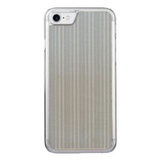 Coque Carved iPhone 8/7 Rayures verticales de bleus layette en pastel