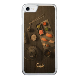 Coque Carved iPhone 8/7 Rituel de Japonais de sushi