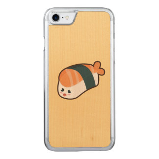 Coque Carved iPhone 8/7 Saumon de nigiri de Kawaii