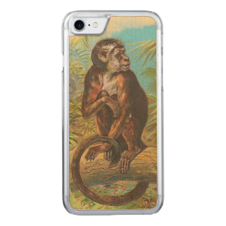 Coque Carved iPhone 8/7 Singe