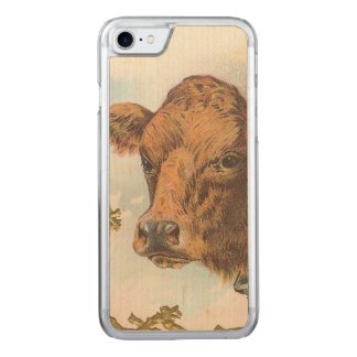 Coque Carved iPhone 8/7 Vache