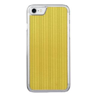 Coque Carved iPhone 8/7 Vert jaune Chartreuse de rayures verticales