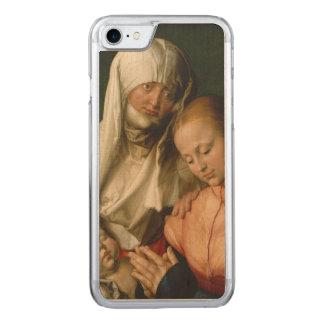 Coque Carved iPhone 8/7 Vierge et enfant avec le saint Anne par Durer