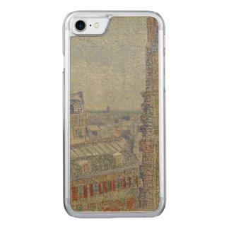 Coque Carved iPhone 8/7 Vue de l'appartement de Theo par Vincent van Gogh