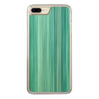 Coque Carved iPhone 8 Plus/7 Plus #5 ambiant Teal, motif dépouillé moderne original