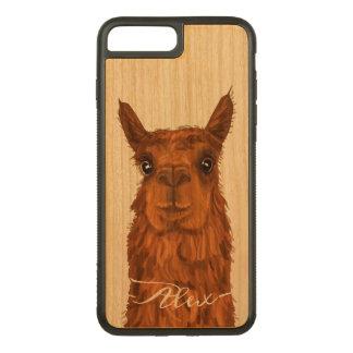 Coque Carved iPhone 8 Plus/7 Plus Alpaga frais et drôle