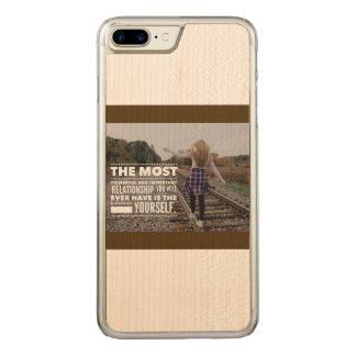 Coque Carved iPhone 8 Plus/7 Plus Amour vous-même