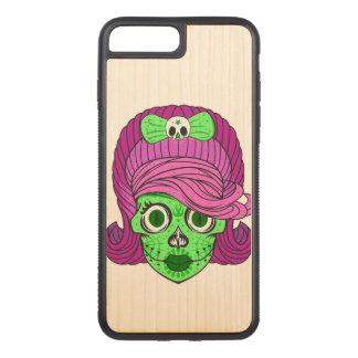 Coque Carved iPhone 8 Plus/7 Plus Crâne Girly superbe de sucre