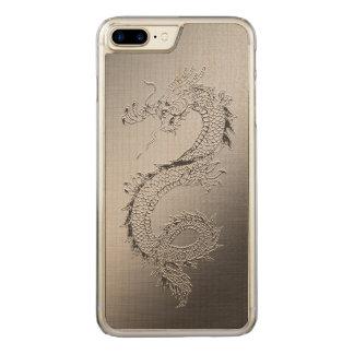 Coque Carved iPhone 8 Plus/7 Plus Dragon vintage