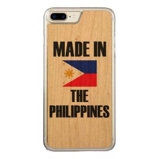 Coque Carved iPhone 8 Plus/7 Plus Fait dans le drapeau de Philippines