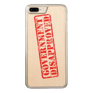 Coque Carved iPhone 8 Plus/7 Plus Le gouvernement a désapprouvé