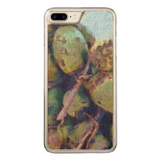 Coque Carved iPhone 8 Plus/7 Plus Noix de coco tendres dans une pile