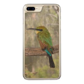 Coque Carved iPhone 8 Plus/7 Plus Oiseau d'abeille-mangeur d'arc-en-ciel, Australie