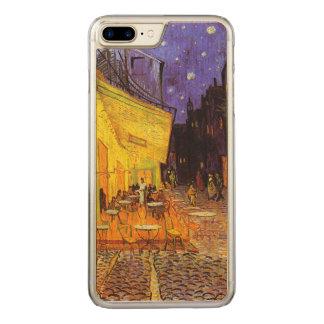 Coque Carved iPhone 8 Plus/7 Plus Terrasse de café de Vincent van Gogh aux