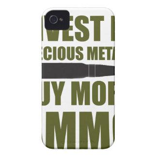 Coque Case-Mate iPhone 4 Achetez plus de munitions, les investissez en