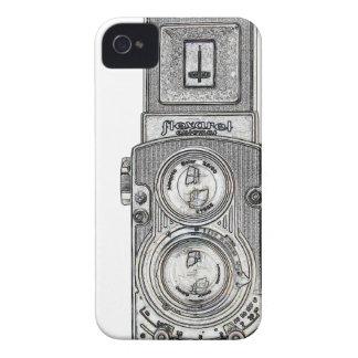 Coque Case-Mate iPhone 4 appareil-photo jumel du réflexe TLR