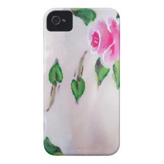 COQUE Case-Mate iPhone 4 AQUARELLE ROSE DE ROSES
