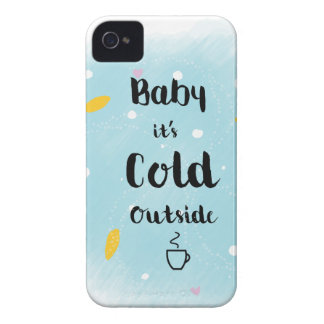 Coque Case-Mate iPhone 4 Bébé c'est extérieur froid