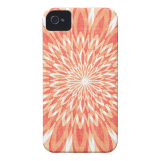 Coque Case-Mate iPhone 4 CADEAUX d'ART de tournesol du charme CHAKRA Sun de