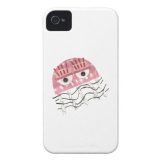 Coque Case-Mate iPhone 4 Cas d'IPhone 4 de peigne de méduses