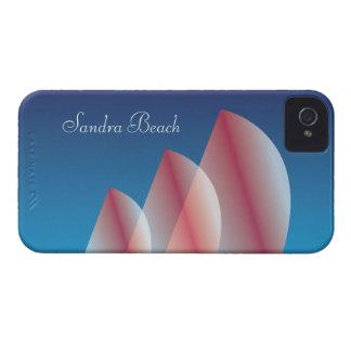 Coque Case-Mate iPhone 4 Ciel bleu translucide de Tri Voile personnalisé