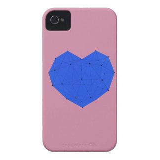 Coque Case-Mate iPhone 4 Coeur géométrique