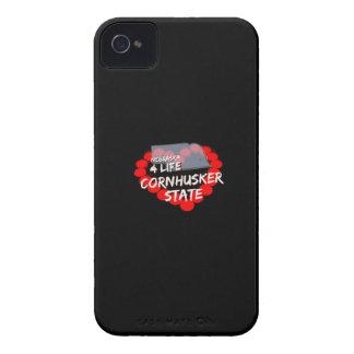 Coque Case-Mate iPhone 4 Conception de coeur de bougie pour l'état du