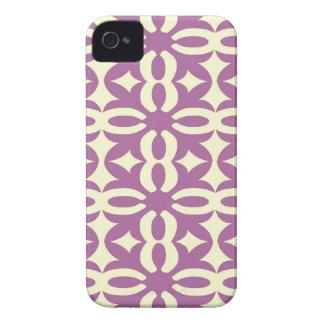 Coque Case-Mate iPhone 4 Copie victorienne violette de dentelle