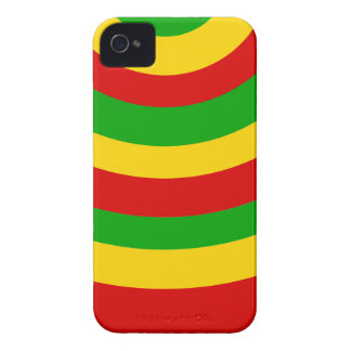 Coque Case-Mate iPhone 4 Courbes de Rasta