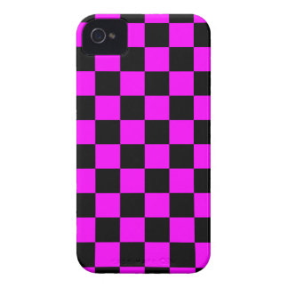 Coque Case-Mate iPhone 4 Damier du tigre 80s de Corey