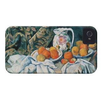 Coque Case-Mate iPhone 4 De Cezanne toujours rideau en vie, broc fleuri,