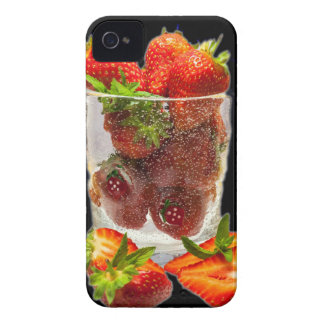 Coque Case-Mate iPhone 4 Dessert de fraise