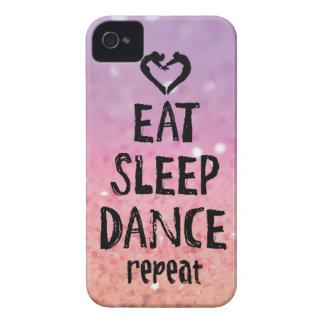 Coque Case-Mate iPhone 4 EatSleepDanceglitter.jpg