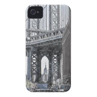 Coque Case-Mate iPhone 4 Horizon de pont des Etats-Unis New York Manhattan