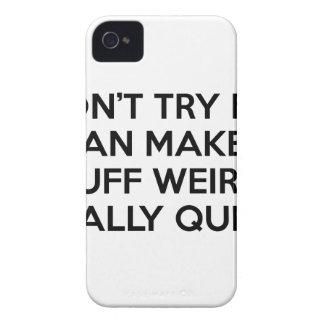 Coque Case-Mate iPhone 4 Je peux rendre la substance étrange