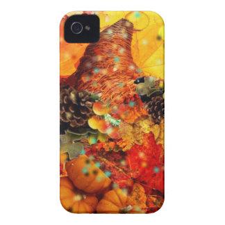 Coque Case-Mate iPhone 4 Klaxon d'abondance dans le thanksgiving